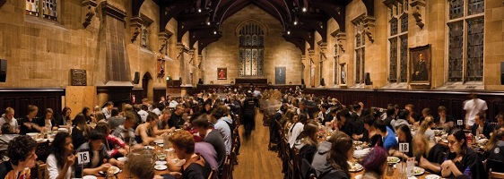 Our iconic dining hall